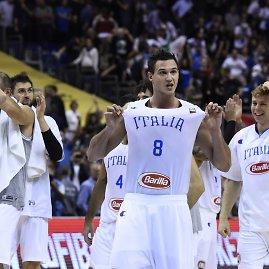 """AFP/""""Scanpix"""" nuotr./Italijos krepšininkai"""