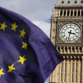"""Scanpix""/""PA Wire""/""Press Association Images"" nuotr./Europos Sąjungos vėliava"