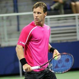 """""""@ulysseel"""" nuotr./Ričardas Berankis """"US Open"""" starte nugalėjo Maleką Jazirį"""