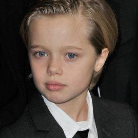 """""""Scanpix"""" nuotr./Aštuonmetė Holivudo aktorių Angelinos Jolie ir Brado Pitto dukra Shiloh"""