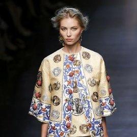 """""""Reuters""""/""""Scanpix"""" nuotr./Mados namų """"Dolce & Gabbana"""" 2014 metų pavasario/vasaros kolekcija"""