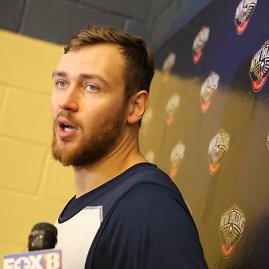 """New Orleans Pelicans"" klubo nuotr./Donatas Motiejūnas"