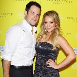 AOP nuotr./Hilary Duff ir Mike'as Comrie