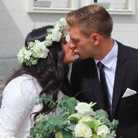 Facebook.com nuotr./Vestuvių akimirka