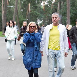 15min.lt archyvo nuotr./Ingrida Martinkėnaitė su vyru Andrejumi Velijevu