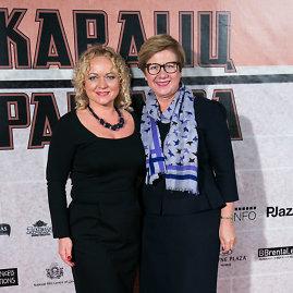 """Juliaus Kalinsko / 15min nuotr./Filmo """"Karalių pamaina"""" premjeros akimirka"""