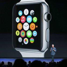 """Scanpix"" nuotr./išmanusis laikrodis ""Apple Watch"""