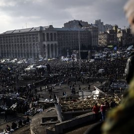 "AFP/""Scanpix"" nuotr./Mitingas Kijeve"