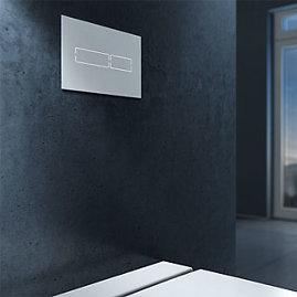 Sensoriniai vandens nuleidimo mygtukai, kurių nereikia liesti – vanduo nuleidžiamas pamojavus ranka arba automatiškai.