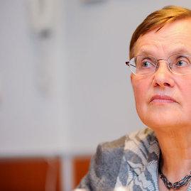 Luko Balandžio nuotr./Prof. Viktorija Daujotytė-Pakerienė