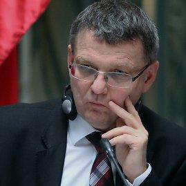 """AFP/""""Scanpix"""" nuotr./Čekijos užsienio reikalų ministras Lubomiras Zaoralekas"""