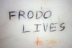 """Wikimedia Commons nuotr./""""Frodas gyvas"""" grafitis"""