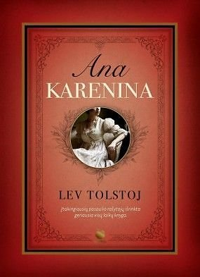 "Knygos viršelis/Knyga ""Ana Karenina"""