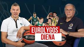 """""""Eurolygos diena"""": Šaras prieš Željko, """"Žalgiris"""" prieš snaudžiantį milžiną """"Fenerbahče"""""""
