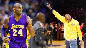 Prisimenant NBA superžvaigždę Kobe Bryantą