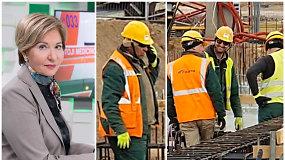 """Statybininkų darbas per karantiną: """"Neįtikėtina, pažeista viskas, kas galima"""""""
