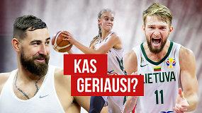 """""""Ginčas"""": kas turi tapti geriausiais metų krepšininkais Lietuvoje?"""