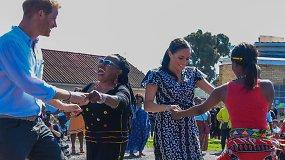 Įvertinkite: Meghan Markle ir princas Harry pademonstravo savo šokių judesius