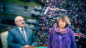 """A.Lukašenkos teroras prieš savus tęsiasi: naujų rinkimų tikėtis naivu, o S.Aleksijevič nuo """"omonininkų"""" saugojo ir Lietuvos ambasadorius"""