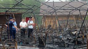 Košmaras Rusijoje: per gaisrą vasaros stovykloje žuvo keturi vaikai