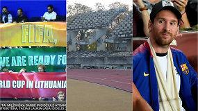 """Įkaitę """"Vieni vartai"""": Pasaulio čempionatas Lietuvoje, griaunamas stadionas ir """"El Clasico"""""""