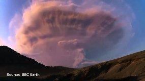 Čilėje užfiksuotas retas reiškinys, vadinamas vulkaniniais žaibais