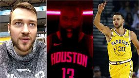 """""""Atsarginiai"""": netikėtas Donato Motiejūno verdiktas ginče ir beprotiški NBA skaičiai"""