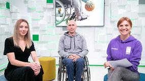 """""""Laikas veikti"""" – pokalbis apie neįgaliųjų sportą: kaip juos integruoti?"""