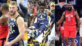 """""""Atsarginiai"""": Domantą Sabonį iki apdovanojimo iškelsianti """"Pacers"""" tragedija ir duoklė barzdai"""