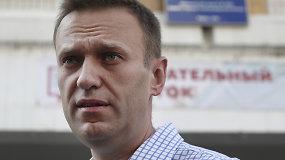 A.Navalno bendražygiai paskelbė jo tyrimą, nufilmuotą vos kelios dienos prieš apnuodijimą