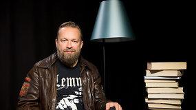 """""""Gyvenimo knygos"""": M.Starkus – apie skaitytojo godumą, geriausias skaitytas knygas ir detektyvus"""