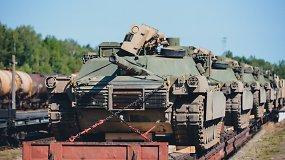 Užbaigta nacionalinės reikšmės geležinkelių linijos Pabradė-Pažeimenė atšaka – NATO pajėgų technika judės greičiau