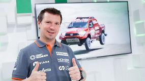 Antanas Juknevičius: įveikęs dešimtą Dakarą, galėtų įveikti dar dešimt