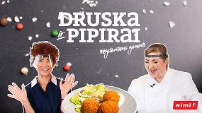 """""""Druska ir pipirai"""" su R.Dominaityte: nepriekaištingi kroketukai iš žuvies filė ir... vakarykščių bulvių"""
