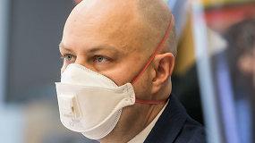 A.Veryga apie naujausią informaciją dėl koronaviruso Lietuvoje
