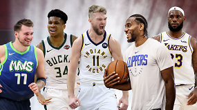 """Ginčas"": ar pateks D.Sabonis į NBA ""All-Star"" rungtynes?"