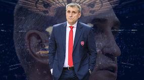 """""""Ginčas"""": ar K.Kemzūros atleidimas kaitina trenerių kėdes Lietuvoje?"""