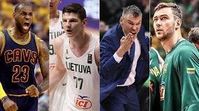 """""""Atsarginiai"""": beprotiški mainai, A.Gudaičio ir """"Cavaliers"""" ateitis bei lietuvių pretendentų į NBA Top 5"""