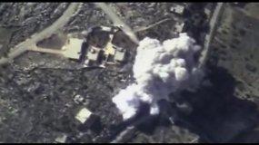 Rusija intensyviai bombarduoja humanitarinį koridorių iš Turkijos į Siriją
