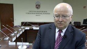 Zenonas Vaigauskas pristato rinkimų naujoves