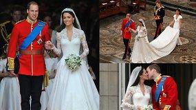 Gražiausios princo Williamo ir Catherine akimirkos – prieš 10 m. karališkoji pora prisiekė amžiną meilę