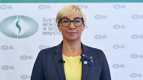 Ministrė Jurgita Šiugždinienė Rugsėjo 1-osios proga sveikina švietimo bendruomenę