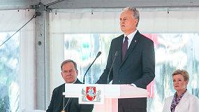 """Prezidentas, ginkluotųjų pajėgų vadas G.Nausėda: """"Kariai, jūs esate mano duotos priesaikos ramstis"""""""