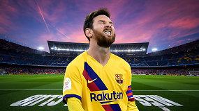 """""""Vieni vartai"""": """"Barcelona"""" skandalas, L.Messi žinutės ir FIFA norai"""