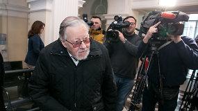 V.Landsbergis atvyko į nuosprendžio paskelbimą Sausio 13-osios byloje