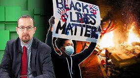 JAV kilusi protestų banga kelia grėsmę: Amerikai netekus galios, galimas pavojus Lietuvai