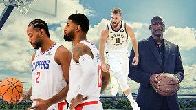 """""""Atsarginiai"""": D.Sabonio milijonai """"Pacers"""", M.Jordano pareiškimai ir skubotos išvados"""