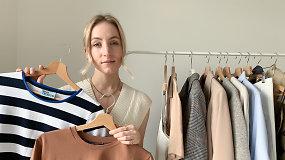 Pavasario spintos kapsulė: kokius drabužius vertėtų turėti savo drabužinėje?