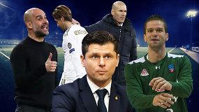 """""""Vieni vartai"""": dar vienas smūgis Lietuvos futbolui, finalas, Čempionų lyga ir raudona kortelė LFF"""