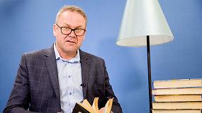 L.Kunigėlis – apie įsimintiniausius rašytojus, Š.Jasikevičiaus autobiografiją ir geriausias skaitytas knygas